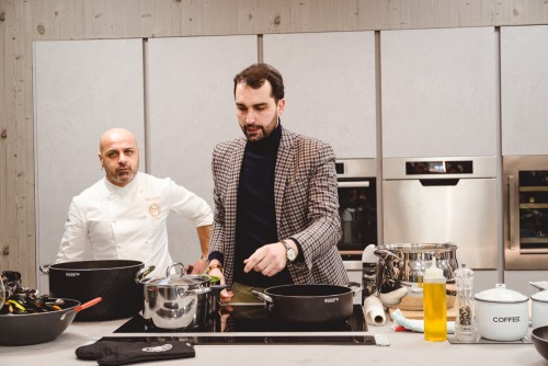 Show cooking con Michele Cannistraro